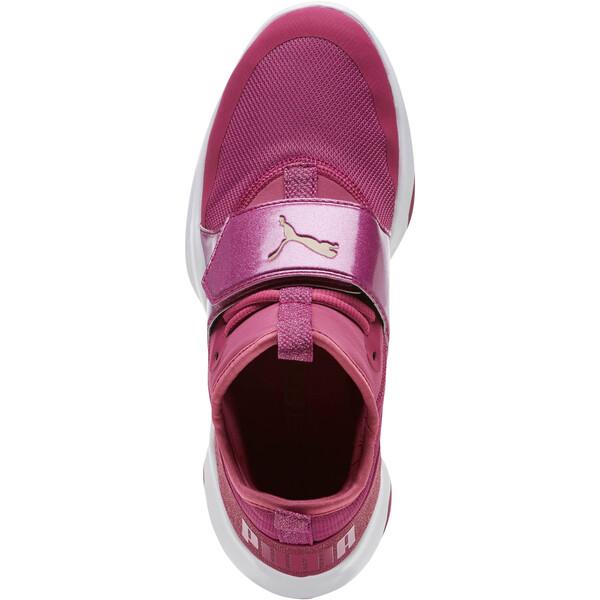Puma Dare Trainer Bling Sneakers, Magenta Haze-Magenta-White, large