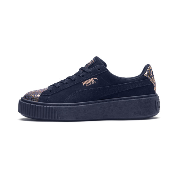 ab947cb4c8 Basket Suede Platform AthLuxe pour fille | PUMA Shoes | PUMA France