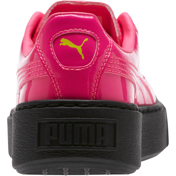 Basket Platform Block JR  Sneakers, PINK-Sulphur Spr-Black, large