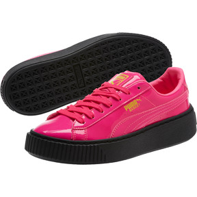 Thumbnail 2 of Basket Platform Block JR  Sneakers, PINK-Sulphur Spr-Black, medium
