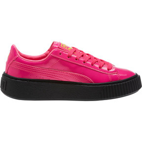 Thumbnail 3 of Basket Platform Block JR  Sneakers, PINK-Sulphur Spr-Black, medium