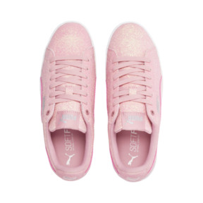 Thumbnail 6 of PUMA Vikky Platform Glitz Sneakers JR, Bridal Rose-Bridal Rose, medium