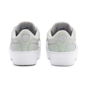 Thumbnail 3 of PUMA Vikky Platform Glitz Sneakers JR, Gray Violet-Gray Violet, medium