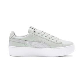 Thumbnail 5 of PUMA Vikky Platform Glitz Sneakers JR, Gray Violet-Gray Violet, medium