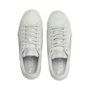 Thumbnail 6 of PUMA Vikky Platform Glitz Sneakers JR, Gray Violet-Gray Violet, medium