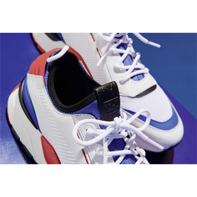 Imagen en miniatura 6 de Zapatillas Evolution RS-0 SOUND, White-DazzBlue-HighRiskRed, mediana
