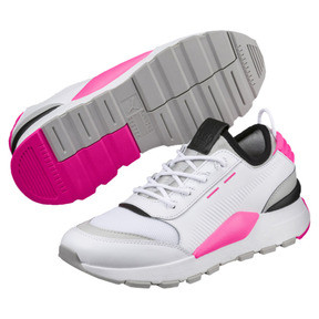 Imagen en miniatura 2 de Zapatillas Evolution RS-0 SOUND, Wht-GrayViolet-KNOCKOUTPINK, mediana