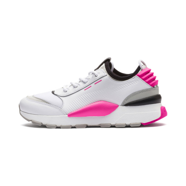 Zapatillas Evolution RS-0 SOUND, Wht-GrayViolet-KNOCKOUTPINK, grande