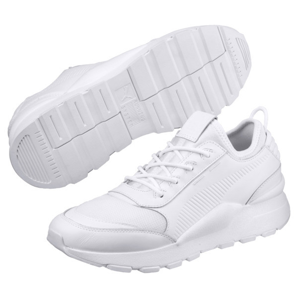 Evolution RS-0 SOUND Trainers, Puma White, large