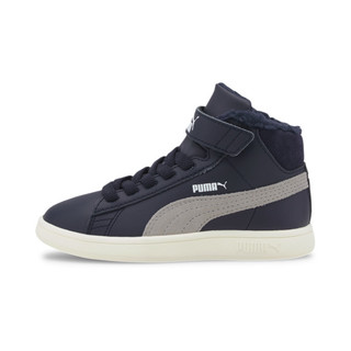 Изображение Puma Детские ботинки Puma Smash v2 Mid L Fur V PS