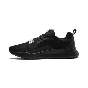 Thumbnail 1 of PUMA Wired Sneakers JR, Puma Black-Puma Black- Black, medium