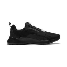 Thumbnail 5 of PUMA Wired Sneakers JR, Puma Black-Puma Black- Black, medium