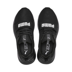 Thumbnail 6 of PUMA Wired Kids' Trainers, Puma Black-Puma Black- Black, medium