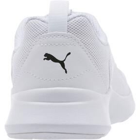 Thumbnail 4 of PUMA Wired JR Sneakers, Puma White-Puma White-White, medium