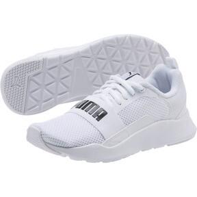 Thumbnail 2 of PUMA Wired JR Sneakers, Puma White-Puma White-White, medium