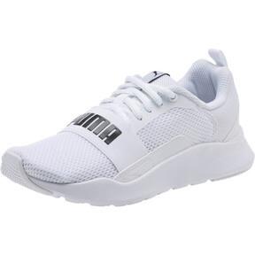 Thumbnail 1 of PUMA Wired JR Sneakers, Puma White-Puma White-White, medium