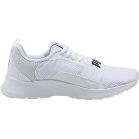 Thumbnail 3 of PUMA Wired JR Sneakers, Puma White-Puma White-White, medium