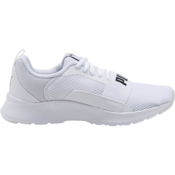 PUMA Wired JR Sneakers, Puma White-Puma White-White, large