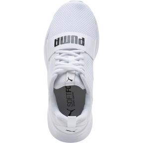 Thumbnail 5 of PUMA Wired JR Sneakers, Puma White-Puma White-White, medium
