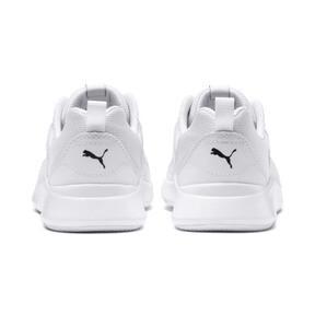 Thumbnail 4 of PUMA Wired Little Kids' Shoes, Puma White-Puma White-White, medium