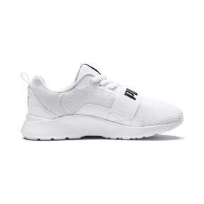 Thumbnail 5 of PUMA Wired Little Kids' Shoes, Puma White-Puma White-White, medium