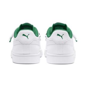 Thumbnail 4 of Puma Smash v2 V Fresh Sneakers, Puma W-Puma W-Amazon Green, medium
