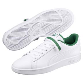 Thumbnail 2 of Puma Smash v2 V Fresh Sneakers, Puma W-Puma W-Amazon Green, medium