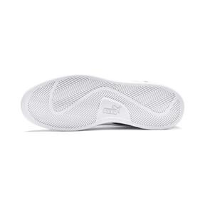 Thumbnail 3 of PUMA Smash v2 Suede Mid Sneakers, Puma Black-Puma White, medium