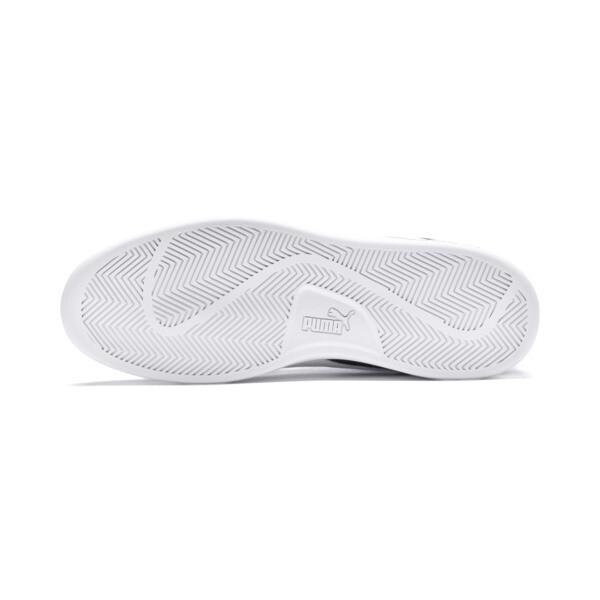 PUMA Smash v2 Suede Mid Sneakers, Puma Black-Puma White, large