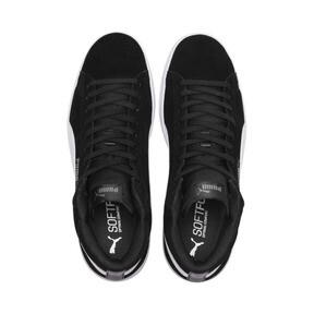 Thumbnail 6 of PUMA Smash v2 Suede Mid Sneakers, Puma Black-Puma White, medium