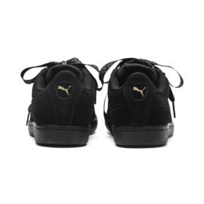 Thumbnail 4 of Puma Vikky Ribbon Dots Sneakers, Puma Black-Puma Black, medium