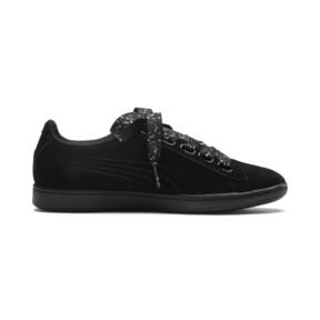 Thumbnail 5 of Puma Vikky Ribbon Dots Sneakers, Puma Black-Puma Black, medium