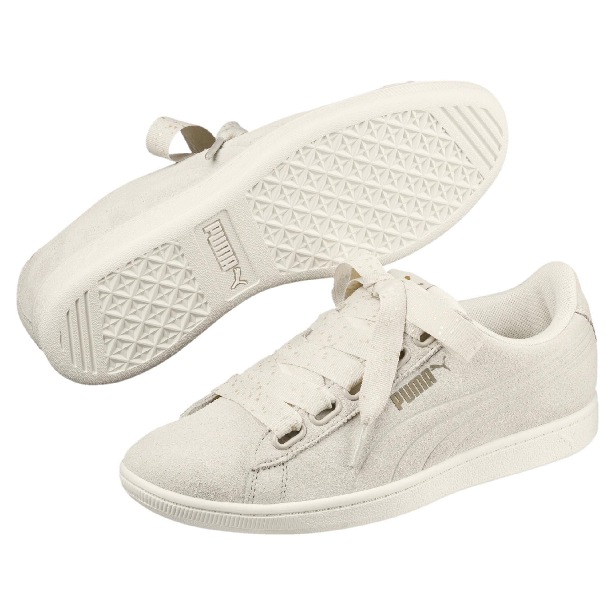 huge selection of e6dbf aaea5 Image Puma Puma Vikky Ribbon Dots Women s Sneakers  2