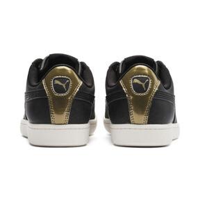 Thumbnail 4 of Puma Vikky LX Sneakers, Black-Black-Whisper White, medium