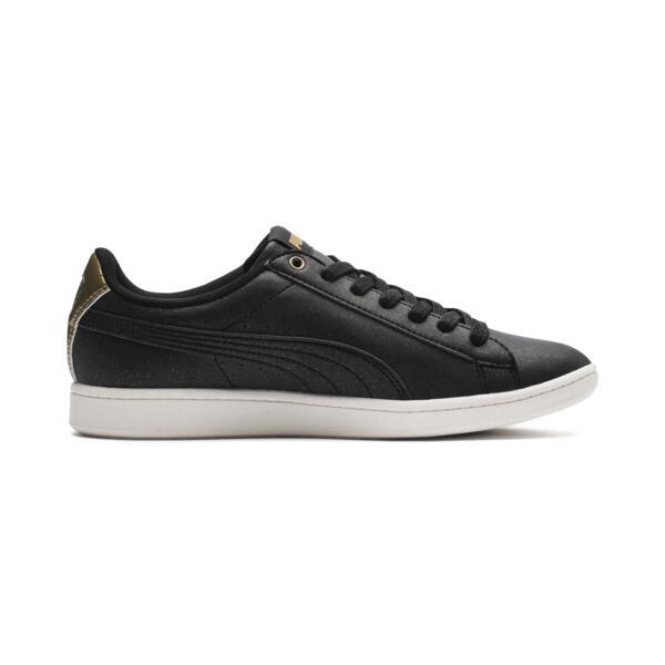 Puma Vikky LX Sneakers, Black-Black-Whisper White, large