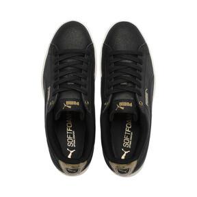 Thumbnail 6 of Puma Vikky LX Sneakers, Black-Black-Whisper White, medium