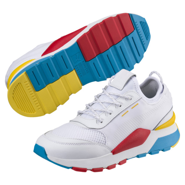 RS-0 Play Kid´s Preschool Trainers, White-Puma White-White, large