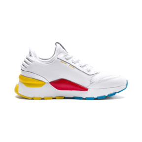 Thumbnail 5 of RS-0 PLAY Kinder Preschool Sneaker, White-Puma White-White, medium