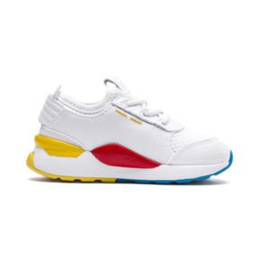 Thumbnail 5 of RS-0 Play Alternate-Closure Baby's Sneakers, White-Puma White-White, medium