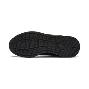 Miniatura 3 de Zapatos deportivos de cuero ST Runner v2 para niño joven, Puma Black-Dark Shadow, mediano