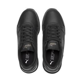 Miniatura 6 de Zapatos deportivos de cuero ST Runner v2 para niño joven, Puma Black-Dark Shadow, mediano
