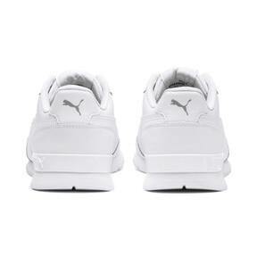 Miniatura 4 de Zapatos deportivos de cuero ST Runner v2 para niño joven, Puma White-Gray Violet, mediano