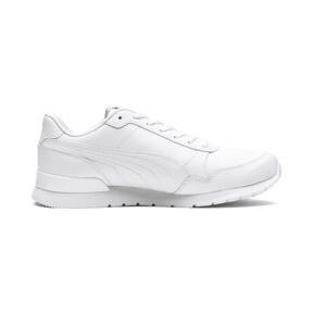 Miniatura 5 de Zapatos deportivos de cuero ST Runner v2 para niño joven, Puma White-Gray Violet, mediano
