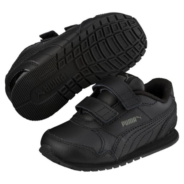 ST Runner v2 AC Little Kids' Shoes, Puma Black-Dark Shadow, large
