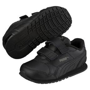 Thumbnail 1 of ST Runner v2 AC Little Kids' Shoes, Puma Black-Dark Shadow, medium