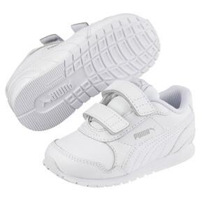 Thumbnail 2 of ST Runner v2 AC Little Kids' Shoes, Puma White-Gray Violet, medium