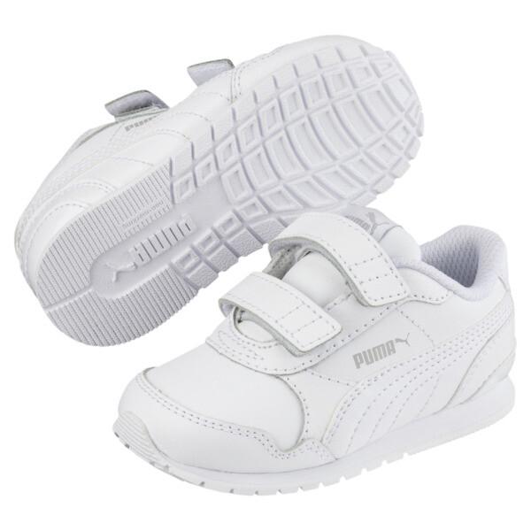 ST Runner v2 AC Little Kids' Shoes, Puma White-Gray Violet, large