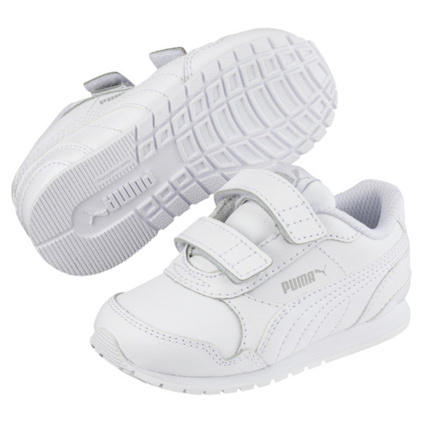 ST Runner v2 AC Shoes INF, Puma White-Gray Violet, large