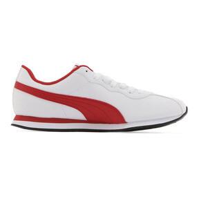 Thumbnail 5 of プーマ チューリン 2 スニーカー, Puma White-High Risk Red, medium-JPN