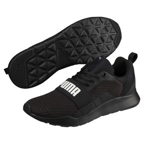 Thumbnail 2 of Wired Trainers, Puma Black-Puma Black- Black, medium